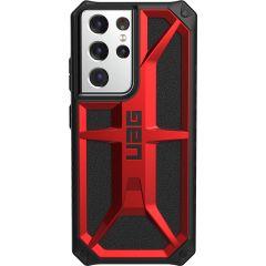 UAG Coque Monarch Samsung Galaxy S21 Ultra - Crimson Red