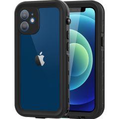 Redpepper Coque imperméable Dot Plus iPhone 12 Mini - Noir