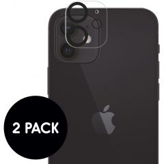iMoshion Camera Protector Glas 2 Pack iPhone 12 Mini