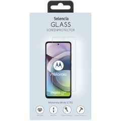 Selencia Protection d'écran en verre durci Motorola Moto G 5G