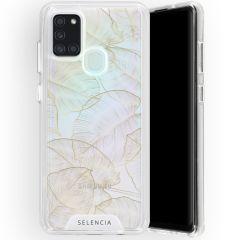 Selencia Coque très protectrice Zarya Fashion Backcover Galaxy A21s