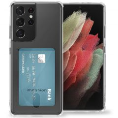 iMoshion Coque silicone avec support de passe Galaxy S21 Ultra