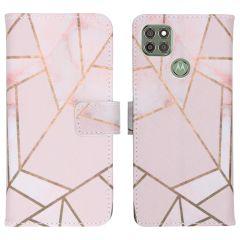 iMoshion Coque silicone design Motorola Moto G9 Power - Pink Graphic