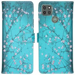 iMoshion Coque silicone design Motorola Moto G9 Power - Blossom