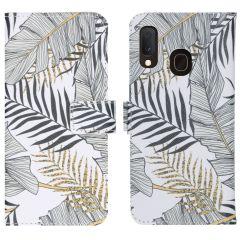 iMoshion Coque silicone design Samsung Galaxy A20e - Glamour Botanic