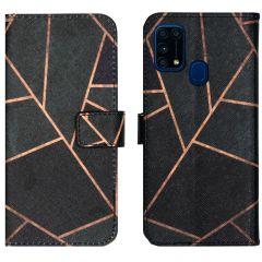 iMoshion Coque silicone design Samsung Galaxy M31 - Black Graphic