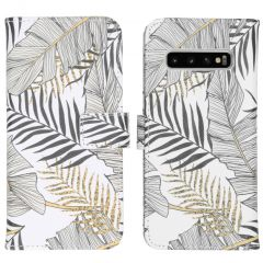 iMoshion Coque silicone design Samsung Galaxy S10 - Glamour Botanic