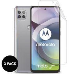 iMoshion Protection d'écran Film 3 pack Motorola Moto G 5G