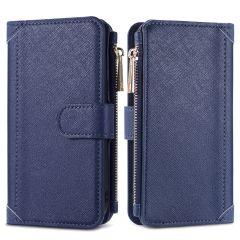 iMoshion Porte-monnaie de luxe Samsung Galaxy S9 - Bleu foncé