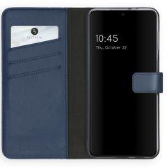 Selencia Étui de téléphone en cuir véritable Samsung Galaxy S21 Plus