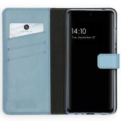 Selencia Étui de téléphone en cuir véritable Galaxy A52(s) (5G/4G)