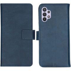 iMoshion Étui de téléphone portefeuille Luxe Galaxy A32 (5G) - Bleu