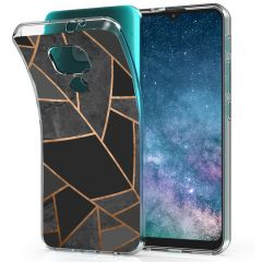 iMoshion Coque Design Motorola Moto E7 Plus / G9 Play - Black Graphic