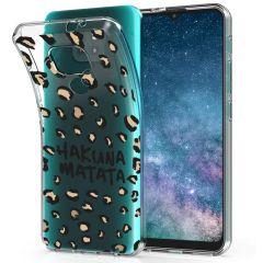 iMoshion Coque Design Motorola Moto E7 Plus / G9 Play - Leopard