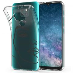 iMoshion Coque Design Motorola Moto E7 Plus / G9 Play - Line Art