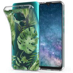 iMoshion Coque Design Motorola Moto E7 Plus / G9 Play - Monstera