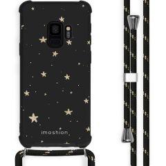 iMoshion Coque Design avec cordon Samsung Galaxy S9 - Etoiles - Noir