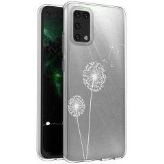 iMoshion Coque Design Samsung Galaxy A02s - Pissenlit - Blanc