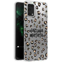 iMoshion Coque Design Samsung Galaxy A02s - Léopard - Brun / Noir
