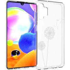 iMoshion Coque Design Samsung Galaxy A32 (5G) - Pissenlit - Blanc