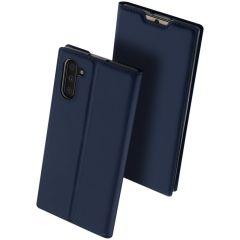 Dux Ducis Étui de téléphone Slim Xiaomi Mi Note 10 (Pro) - Bleu foncé