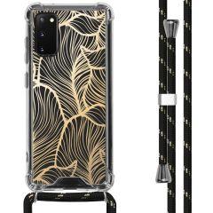iMoshion Coque Design avec cordon Samsung Galaxy S20 - Feuilles