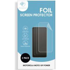 iMoshion Protection d'écran Film 3 pack Motorola Moto G9 Power