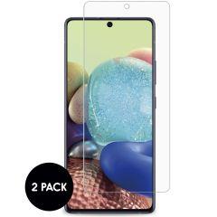 iMoshion Protection d'écran en verre durci 2 pack Galaxy A72