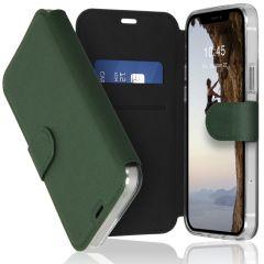 Accezz Étui de téléphone Xtreme Wallet iPhone 12 (Pro) - Vert foncé