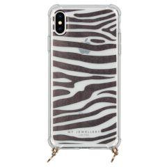 My Jewellery Housse cordon pour coque silicone Design iPhone Xs / X