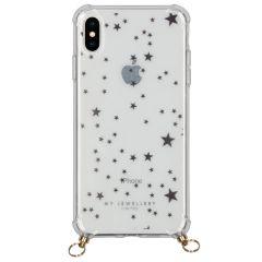My Jewellery Housse avec cordon pour coque silicone Design iPhone Xs Max
