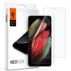 Spigen Protection d'écran Neo Flex Duo Pack Galaxy S21 Ultra