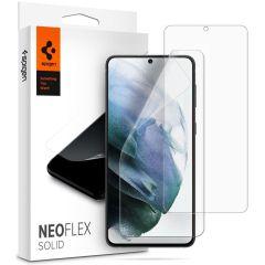 Spigen Protection d'écran Neo Flex Solid Duo Pack Galaxy S21 Plus