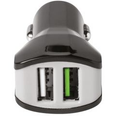 Celly Dual USB Car Charger - 3,4A - Noir