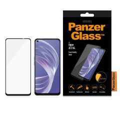 PanzerGlass Protection d'écran Case Friendly Oppo A73 (5G) - Noir