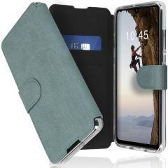 Accezz Étui de téléphone Xtreme Wallet Huawei P30 Lite - Bleu clair