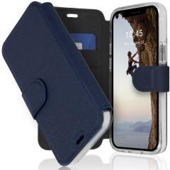 Accezz Étui de téléphone Xtreme Wallet iPhone 12 Mini - Bleu foncé