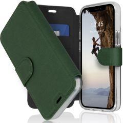 Accezz Étui de téléphone Xtreme Wallet iPhone 12 Mini - Vert foncé