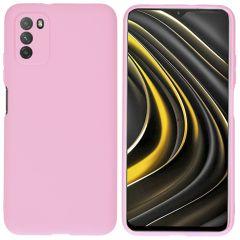 iMoshion Coque Color Xiaomi Poco M3 - Rose