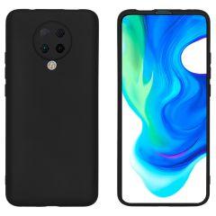 iMoshion Coque Color Xiaomi Poco F2 Pro - Noir
