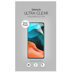 Selencia Protection d'écran Duo Pack Ultra Clear Xiaomi Poco F2 Pro