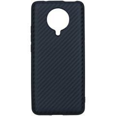 Coque silicone Carbon Xiaomi Poco F2 Pro - Noir