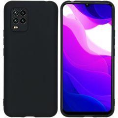 iMoshion Coque Color Xiaomi Mi 10 Lite - Noir