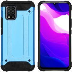 iMoshion Coque Rugged Xtreme Xiaomi Mi 10 Lite - Bleu clair
