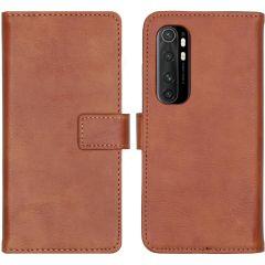 iMoshion Étui de téléphone Luxe Xiaomi Mi Note 10 Lite - Brun