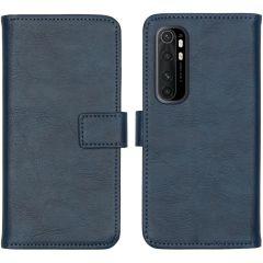 iMoshion Étui de téléphone Luxe Xiaomi Mi Note 10 Lite - Bleu foncé