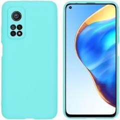 iMoshion Coque Color Xiaomi Mi 10T (Pro) - Turquoise