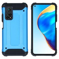 iMoshion Coque Rugged Xtreme Xiaomi Mi 10T (Pro) - Bleu clair