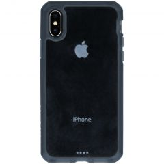 Itskins Coque Hybrid MKII iPhone Xs / X - Noir / Transparent