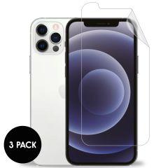 iMoshion Protection d'écran Film 3 pack iPhone 12 (Pro)